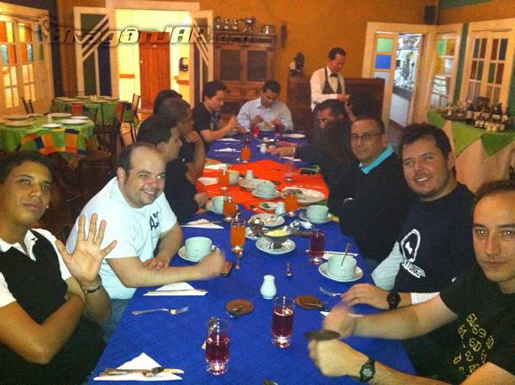 Almuerzo Así fue el ACK Security Conference 2012 – Día IV