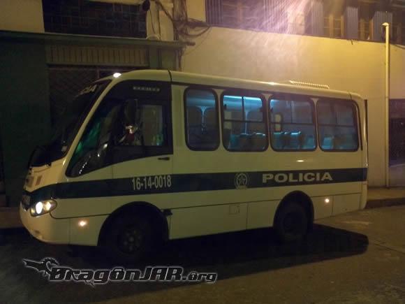 Bus Policia Así fue el ACK Security Conference 2012 – Día III
