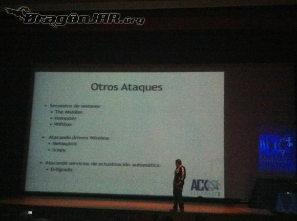 Charla Andres Así fue el ACK Security Conference 2012 – Día IV
