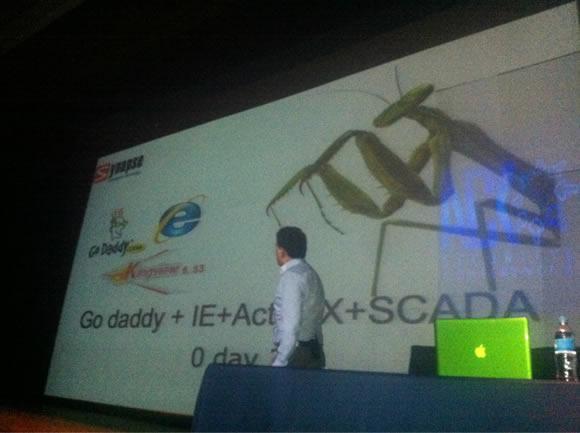 Charla CarlosMario Así fue el ACK Security Conference 2012 – Día IV