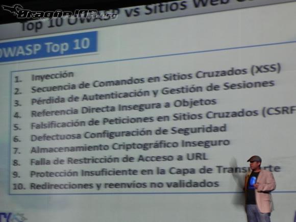 Charla David Moreno Así fue el ACK Security Conference 2012 – Día IV