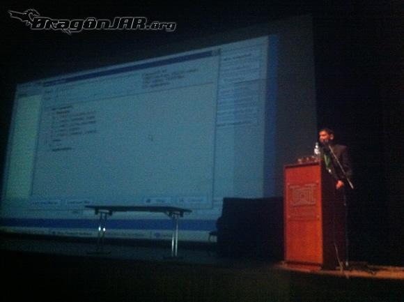 Charla Deluque Así fue el ACK Security Conference 2012 – Día III