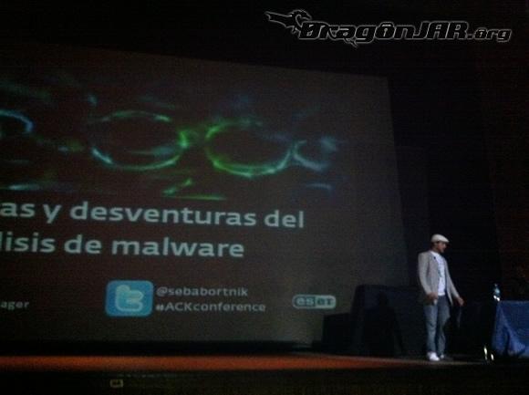 Charla Sebastian Así fue el ACK Security Conference 2012 – Día IV