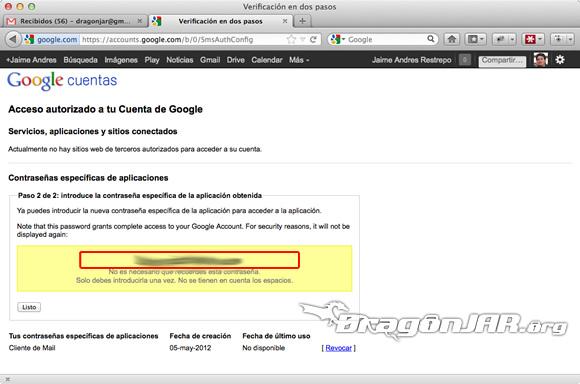 Configurar Gmail Seguro 11 Configurar GMail de forma segura