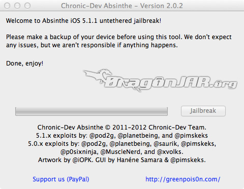 Jailbreak iOS 5.1 2 Jailbreak Untethered para iOS 5.1.1