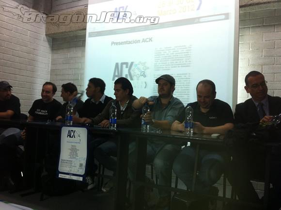 Rueda de Prensa Así fue el ACK Security Conference 2012   Día I