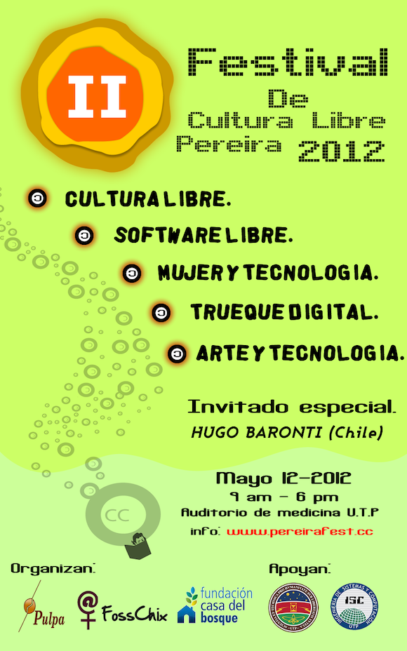 invitacion 2do Festival de Cultura Libre y Software Libre
