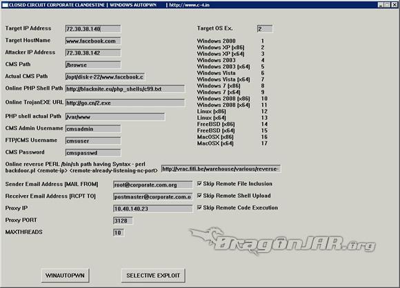 winAUTOPWN winAUTOPWN   Ataques automáticos de entornos Windows