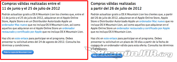 Descargando Mac OS X Mountain Lion 1 Descargar Mac OS X Mountain Lion Gratis
