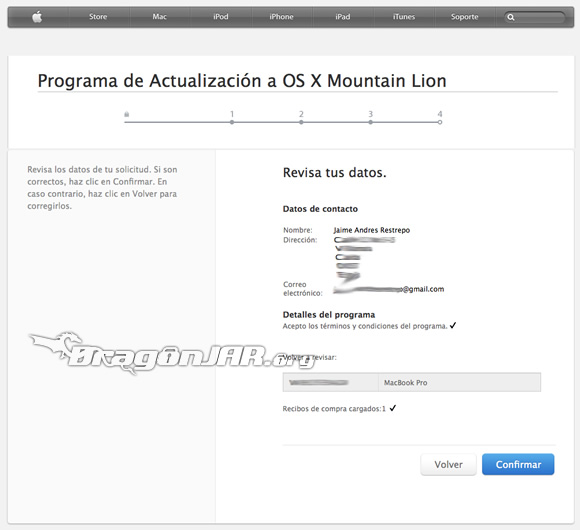 Descargando Mac OS X Mountain Lion 6 Descargar Mac OS X Mountain Lion Gratis