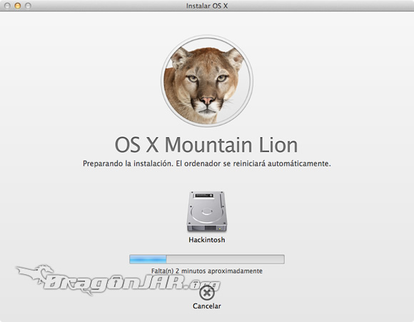 Descargando Mac OS X Mountain Lion 8 Descargar Mac OS X Mountain Lion Gratis