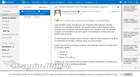 Hotmail.com ahora es Outlook.com