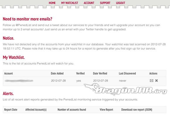 PwnedList 4 PWNedList servicio gratuito para revisar si tus datos han sido expuestos