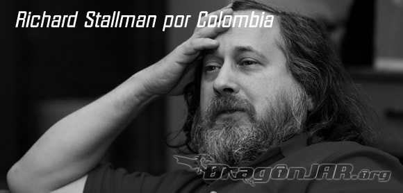 Richard Stallman por Colombia