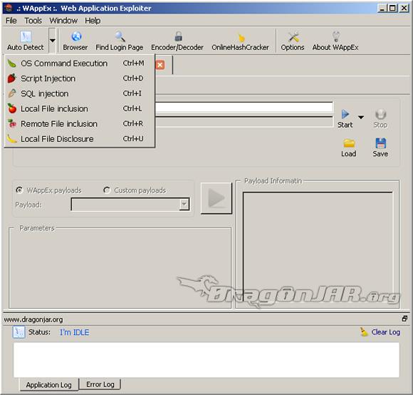 WAppEx 1 WAppEx suite para auditar aplicaciones web, de los creadores de Havij