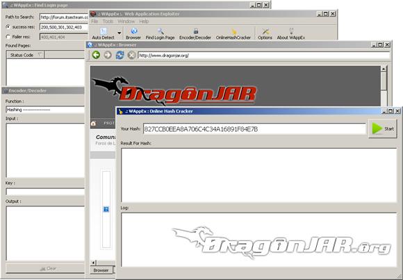 WAppEx 2 WAppEx suite para auditar aplicaciones web, de los creadores de Havij