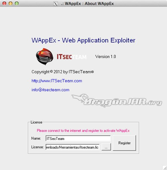 WAppEx 3 WAppEx suite para auditar aplicaciones web, de los creadores de Havij