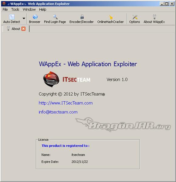 WAppEx WAppEx suite para auditar aplicaciones web, de los creadores de Havij