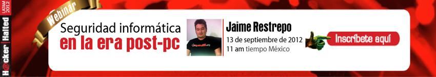 Actividades para Septiembre 2012