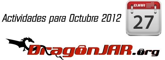 Actividades Octubre  Actividades para Octubre 2012