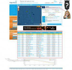 Itinerario de Shakira 300x291 Los aviones de los famosos no son tan privados