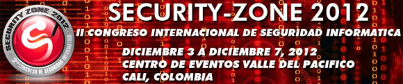 Security Zone Streaming en vivo del Security Zone 2012