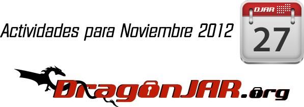 Actividades Noviembre Actividades para Noviembre 2012