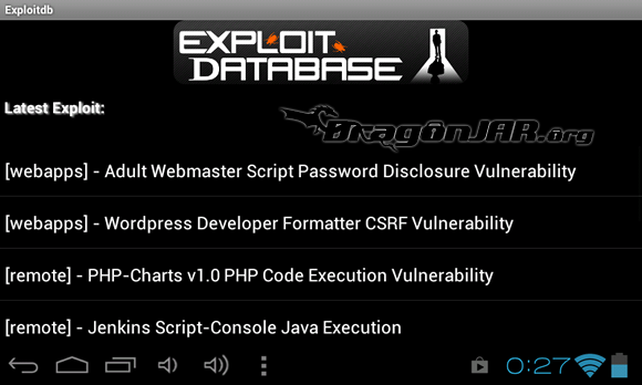ExploitDB Dispositivos Android como herramientas para test de penetración