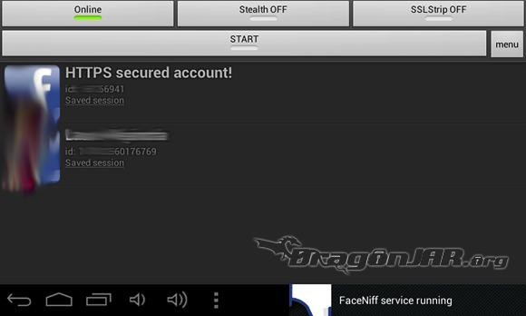 Facesniff Dispositivos Android como herramientas para test de penetración