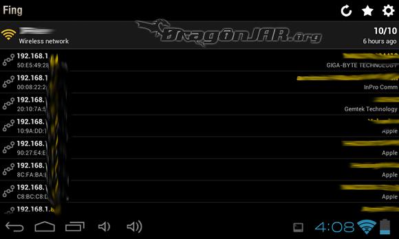 Fing Dispositivos Android como herramientas para test de penetración
