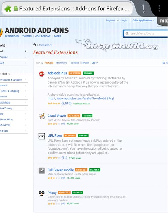 Firefox Dispositivos Android como herramientas para test de penetración