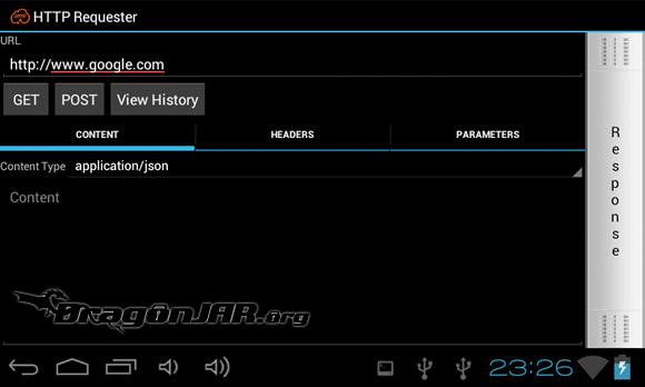 HTTP Requester Dispositivos Android como herramientas para test de penetración