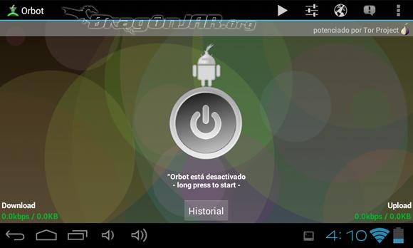 Orbot Dispositivos Android como herramientas para test de penetración