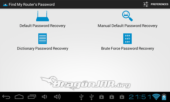 Router Dispositivos Android como herramientas para test de penetración