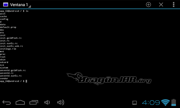 Terminal Dispositivos Android como herramientas para test de penetración