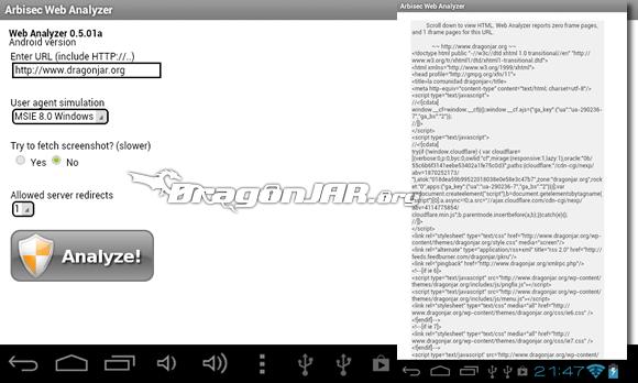 Web Dispositivos Android como herramientas para test de penetración