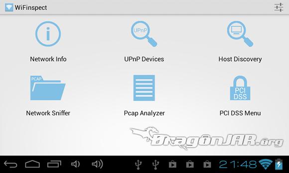 WiFinspector 1 Dispositivos Android como herramientas para test de penetración
