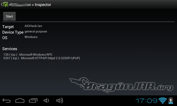 dSploit 3 Dispositivos Android como herramientas para test de penetración