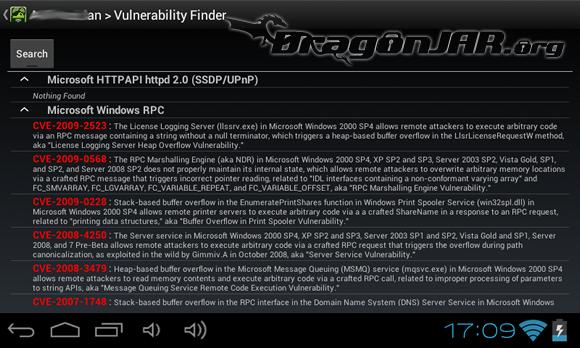 dSploit 4 Dispositivos Android como herramientas para test de penetración