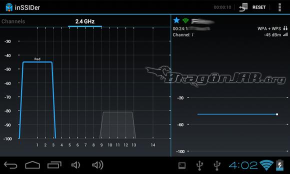 inSSIDEr Dispositivos Android como herramientas para test de penetración