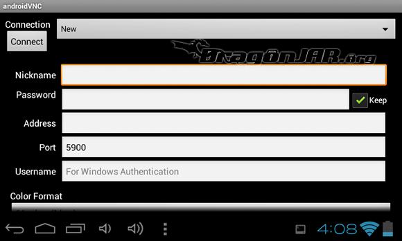 vnc Dispositivos Android como herramientas para test de penetración