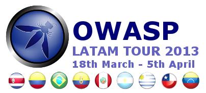 Así fue el OWASP Latam Tour 2013