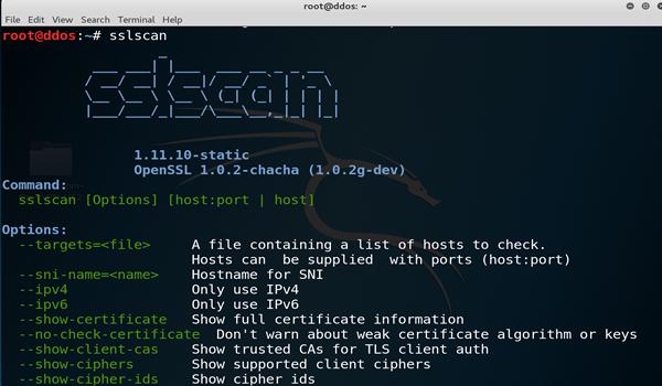 SSLScan comprueba la seguridad de tu SSL