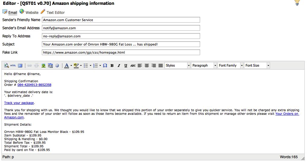 Sptoolkit, una campaña de phishing profesional desde tu casa!!