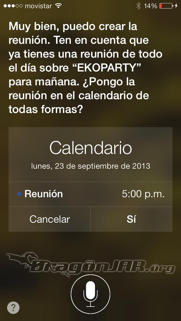 Modificar Calendario