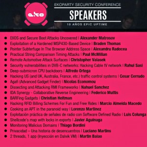 Speakers Eko 300x300 ekoparty   Electronic Knock Out Party !!10 años¡¡