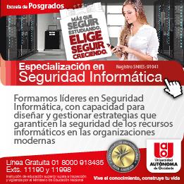 Especialización en Seguridad Informática