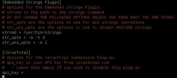 Mastiff, automatizando el análisis de malware