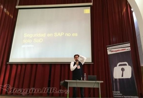 Seguridad en SAP no es Solo SOD – Efrén A. Sanchez – DragonJAR Security Conference 2014