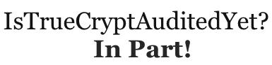 ¿#Fail de Truecrypt?